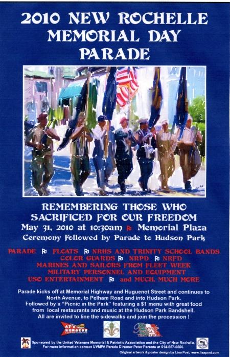 2010 Memorial Day Parade Poster