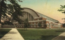 Illinois Armory Postcard - Then