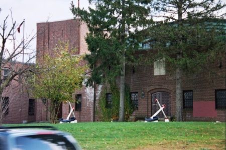 New Rochelle Armory Damage From Leaking Roof